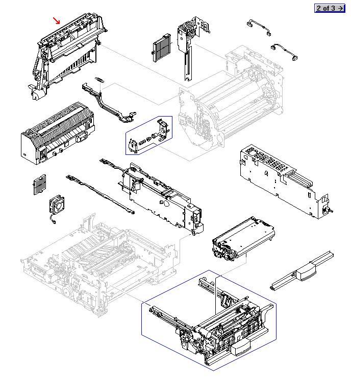 Paper Output Unit