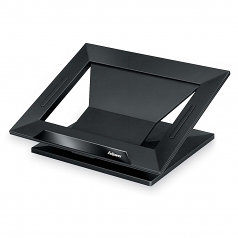 Notebook Stand - Up to 17 inch Screen Support - 25 lb Load Capacity - 4 inch Height x 13.2 inch Width x 11.2 inch Depth - Black Black