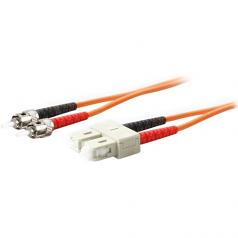 5m Multi-Mode fiber (MMF) Duplex ST/SC OM1 Orange Patch Cable - Fiber Optic for Network Device - 5m - 2 x ST Male Network - 2 x SC Male Network - Orange