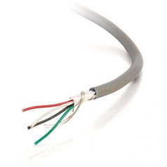 1000FT 24 AWG 12-CONDUCTOR FOIL SHIELD PVC BULK CABLE