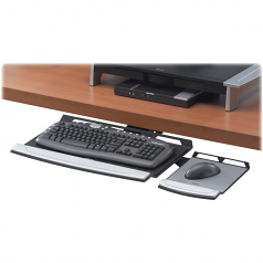 FULLY ADJUSTABLE UNIT SAVES SPACE AND OFFERS GOOD SUPPORT WHILE YOU WORK TO ADJU