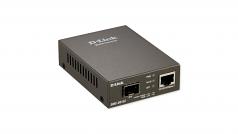 DMC G01LC - Fiber media converter - GigE - 10Base-T 1000Base-LX 1000Base-SX 1000Base-ZX 100Base-FX 100Base-TX 1000Base-T - RJ-45 / SFP (mini-GBIC)