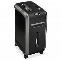 Powershred 99Ci 100% Jam Proof Cross-Cut Shredder - Shreds 18 sheets of paper per pass into 5/32 x 1-? ? (Security Level P-4) particles - 9-gallon bin