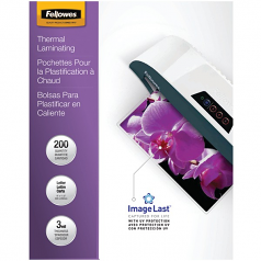 Imagelast Laminating Pouches With Uv Protection 3mil 11 1/2 X 9 200/pack