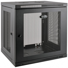 12U Wall Mount Rack Enclosure Server Cabinet Low Profile Deep - Rack enclosure cabinet - black - 12U - 19 inch