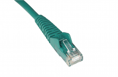 25ft Cat6 Gigabit Snagless Molded Patch Cable RJ45 M/M Green 25 feet - Patch cable - RJ-45 (M) to RJ-45 (M) - 25 ft - UTP - CAT 6 - molded snagless stranded - green