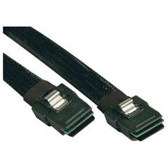 3ft Internal SAS Cable Mini-SAS SFF-8087 to mini-SAS SFF-8087 3 feet - SAS internal cable - with Sidebands - 4-Lane - 36 pin 4i Mini MultiLane (M) to 36 pin 4i Mini MultiLane (M) - 3 ft - black