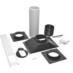 Exhaust Duct Kit for Rackmount Cooling Unit SRCOOL7KRM - Rack air duct kit - black - for P/N: SRCOOL7KRM