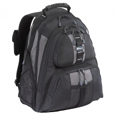 15 - 16 inch / 38.1 - 40.6cm Sport Laptop Backpack - Notebook carrying backpack - 16 inch - black silver