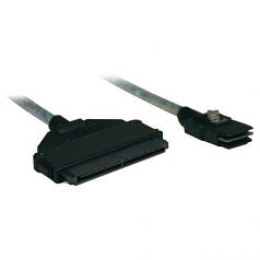 Lite Internal SAS Cable mini-SAS - (SFF-8087) to 4-in-1 32pin (SFF-8484)  3-ft (1M) .