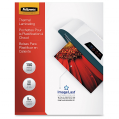 Glossy Pouch - Letter - 150-pack - glossy - 9 in x 11.5 in lamination pouches