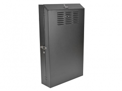 4U Wall Mount Low Profile Rack Enclosure Cabinet 36 inch Deep - Rack - cabinet - wall mountable - black - 4U - 19 inch