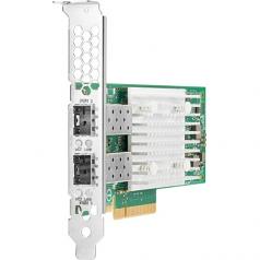 521T - Network adapter - PCIe 3.0 x8 - 10Gb Ethernet x 2 - for ProLiant DL20 Gen10 DL360 Gen10 DL380 Gen10 MicroServer Gen10 ML30 Gen10 ML350 Gen10