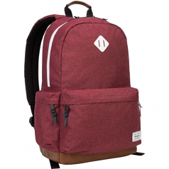 Strata - Notebook carrying backpack - 15.6 inch - burgundy