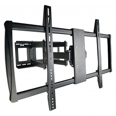 Display TV Wall Monitor Mount Swivel/Tilt 60 inch to 100 inch TVs / EA / Flat-Screens - Wall mount for LCD display - steel - black - screen size: 60 inch -100 inch