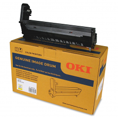 OKI - 1 - yellow - drum kit - for OKI MC770 MC770dnvfax MC780 MC780+ MC780dfnvfax MC780f MC780f+ MC780fx