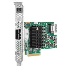 H222 SAS host bus adapter PC board PCIe 3.0 low profile - Has one internal x4 mini-SAS connector one external x4 mini-SAS connector 6Gb/sec transfer rate up to 330TB SAS or 330TB SATA capacity