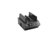 2-bay Battery Charging Station (Part of DT533A) - Requires use of one Battery Adapter Kit for each battery slot (not included with Charging Station)