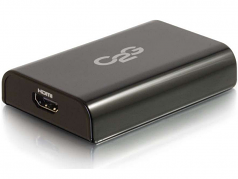 USB 3.0 to HDMI Audio/Video Adapter - External Video Card - External video adapter - USB 3.0 - HDMI - black