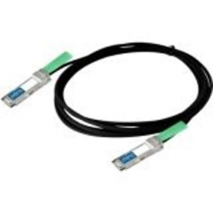 0.5m Extreme Compatible QSFP+ DAC - Direct attach cable - QSFP+ to QSFP+ - 1.6 ft - twinaxial