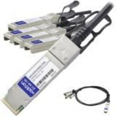 100GBase-CU direct attach cable - QSFP28 to SFP28 - 10 ft - twinaxial - passive - TAA Compliant
