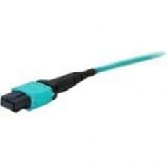 0.3m MPO to Non-Terminated OM3 Aqua Patch Cable - Loopback cable - MPO multi-mode (F) - 0.3 m - fiber optic - 50 / 125 micron - OM3 - aqua