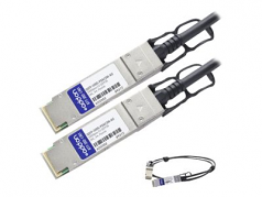 100GBase direct attach cable - QSFP28 to QSFP28 - 10 ft - twinaxial - passive - TAA Compliant