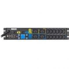 ePDU MA - Power distribution unit (rack-mountable) - AC 200-240 V - 5.76 kW - 1-phase - Ethernet 10/100 RS-232 - input: NEMA L6-30 - output connectors: 16 - 2U - 10 ft