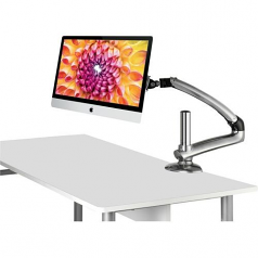 Freedom Arm FDM-MAC-S01-VESA Mounting Arm for iMac - 27 inch Screen Support - 30.80 lb Load Capacity - Aluminum - Silver