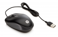 Travel - Mouse - optical - 3 buttons - wired - USB - for HP 250 G4; ProBook 11 G2 440 G3 45X G3 470 G3 64X G2 65X G2; Spectre Pro x360 G2