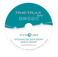 SOFTWARE INTERFACE FOR TIMETRAX SYNC RF WIRELESS TRANSMITTERS OR POE IP NETWORK