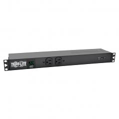 PDU Metered Isobar Surge 120V 20A 12 5-20R 2 5-15R L5-20P 1URM - Horizontal rackmount - power distribution unit (rack-mountable) - 20 A - AC 120 V - 1.92 kW - input: NEMA 5-20P - output connectors: 14 - 1U - 15 ft