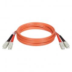 0.3M DUPLEX MULTIMODE 62.5/125 FIBER OPTIC PATCH CABLE SC/SC 1FT 0.3 METER