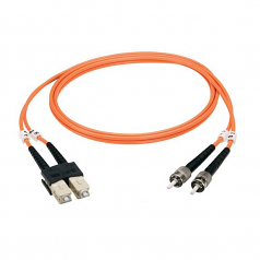 Box Fiber Optic Duplex Patch Cable - LC Male - LC Male - 98.43ft