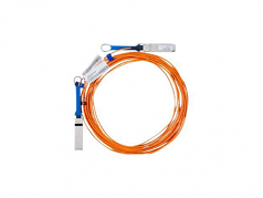 40 Gb/s Active Optical Cable - InfiniBand cable - QSFP+ to QSFP+ - 30 m - fiber optic