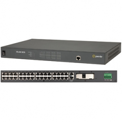 IOLAN SCS32 DC Secure Console Server - 2 x RJ-45 10/100/1000Base-T Network 32 x RJ-45 Serial - 1 x PCI