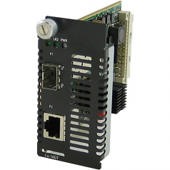 10 Gigabit Ethernet Managed Media Converter Module - 1 x Network (RJ-45) - No - 10GBase-T - 1 x Expansion Slots - 1x XFP Slots - Internal