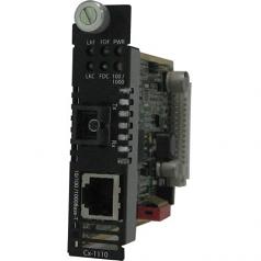 10/100/1000 Media Converter Module Managed - 1 x Network (RJ-45) - 1 x SC Ports - No - 10/100/1000Base-T 1000Base-BX - Internal