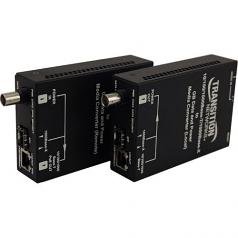 Ethernet Over Coax Extender - Media converter - GigE - 10Base-T 100Base-TX 1000Base-T Coax 1000Base-X
