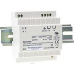 Industrial Power Supply - Power adapter (DIN rail mountable) - AC 85-264/ DC 120-370 V - 24 Watt