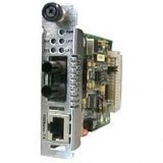 Networks Point System Slide-In-Module Media Converter - 1 x RJ-45  1 x SC - 100Base-TX 100Base-FX
