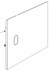 Side access panel