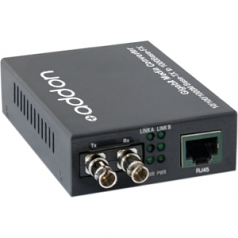 1000Base-TX to 1000Base-LX ST SMF 1310nm 20km Media Converter - 1 x Network (RJ-45) - 1 x ST Ports - No - Single-mode - 1000Base-T 1000Base-LX - External