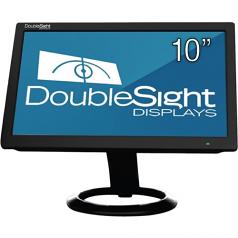 10 inch USB LCD Monitor TAA - Adjustable Display Angle - 1024 x 600 - 262000 Colors - 200 Nit - 500:1 - WSVGA - USB - 4.90 W - Black