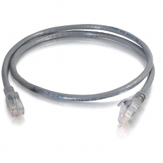 3ft Cat6 Snagless UTP Unshielded Ethernet Network Patch Cable (TAA) - Gray - Patch cable - RJ-45 (M) to RJ-45 (M) - 3 ft - UTP - CAT 6 - molded snagless stranded - gray - TAA Compliant