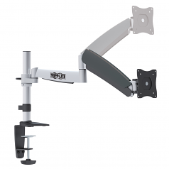 Full-Motion Display TV Desk Mount Arm Swivel Tilt 13 inch to 27 inch EA - Desk mount for LCD display (full-motion) - steel - black - screen size: 13 inch -27 inch - for P/N: WWBASE-BK WWBASE-GY WWBASE-WH WWTOP60-BKC WWTOP60-WHC WWTOP72-BK WWTOP72-ES