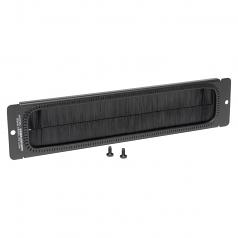 Brush Strip Plate for Wallmount Rack Enclosure Server Cabinet - Brush strip panel