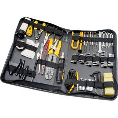 100 PIECES COMPUTER REPAIR TOOL KIT ZIPPED CASE