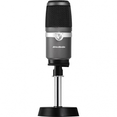 THE USB MICROPHONE DELIVERS A RICHER AND FULLER AUDIO EXPERIENCE WITHOUT T