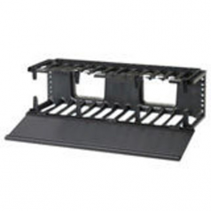 NetManager High Capacity Horizontal Cable Manager - Rack cable management panel (horizontal) - 2U - 19 inch